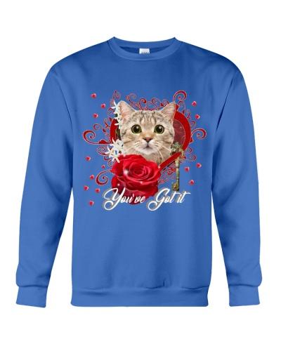 You ve got it Cat red heart
