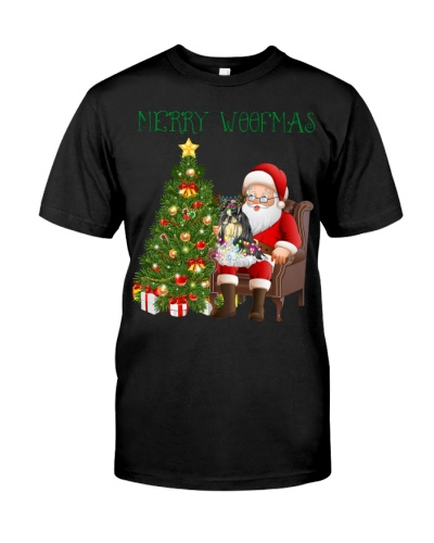 Shih tzu merry woofmas christmas