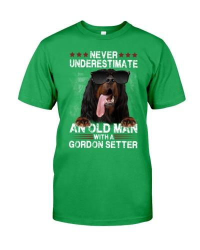 Gordon setter never underestimate an old man
