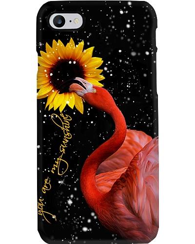 Flamingo U r my sunshine phone case