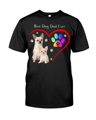dt 11 chihuahua Best Dog Dad Ever 26520