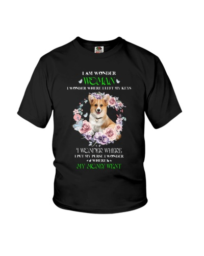 Corgi is wonder woman shirt