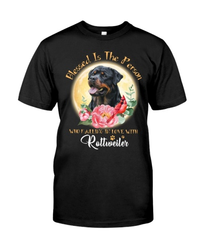 Rottweiler blessed is the person