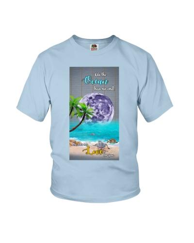 Turtle ocean has no end