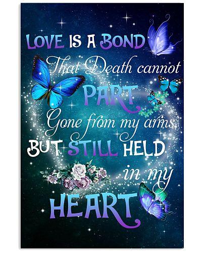 Husband love is a bond poster