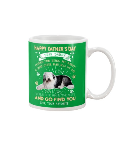 Old English Sheepdog Dear Daddy
