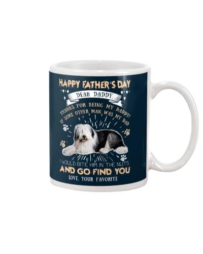 Old English Sheepdog Dear Daddy
