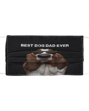 Basset Hound Best Dog Dad Ever Cloth face mask front