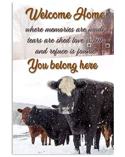 Cow belong home