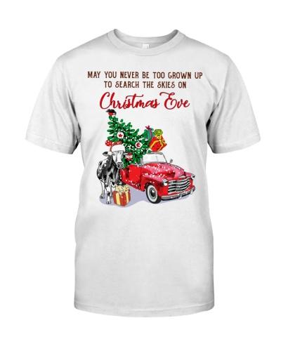 Cow christmas eve