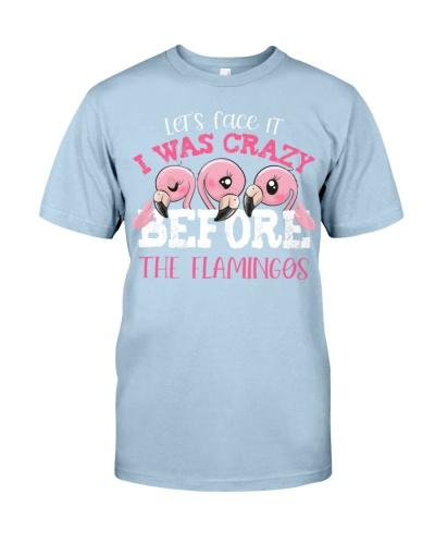 LT Flamingos face cute shirt