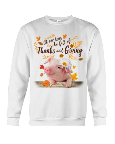 Pig Thanks And Giving