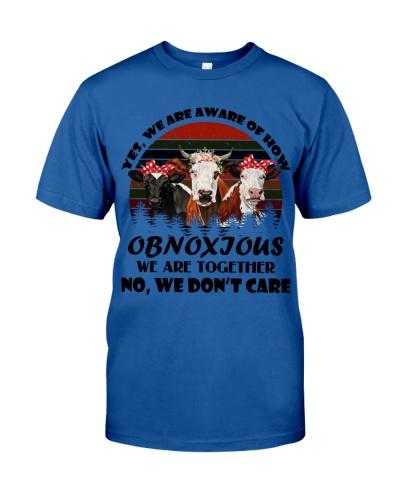 Cows Obnoxious