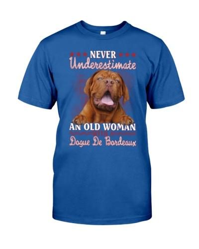 Dogue de bordeaux never underestimate old woman