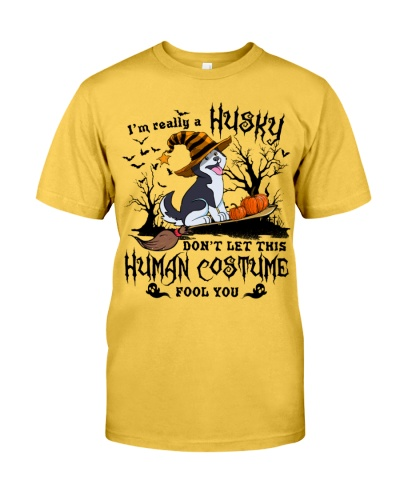 Siberian Husky Human Costume