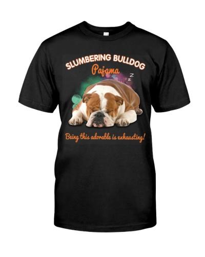 Bulldog pajama