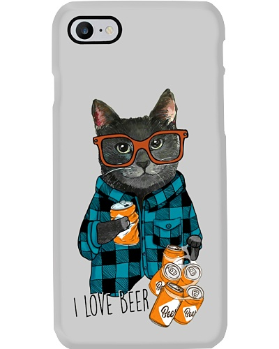 Cat i love beer