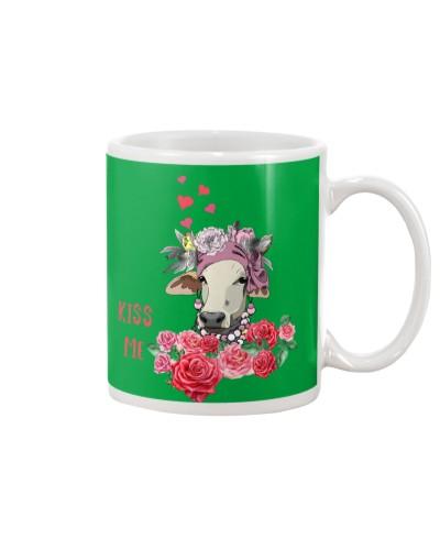 Cute Cow Kiss Me