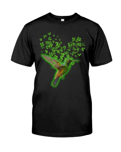 Humming bird alw love ST Patrick's day