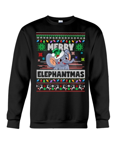 Elephant ugly merry christmas