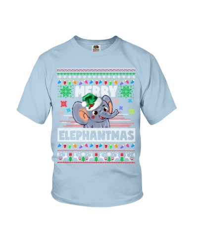 Elephant ugly merry christmas