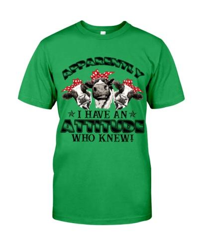 Cows Have An Attitude