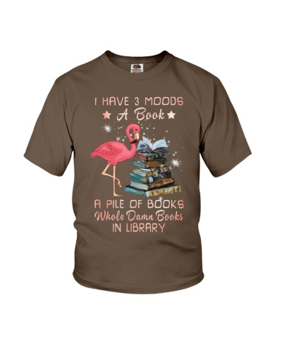 Flamingo books my moods
