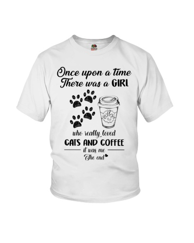 Cat and coffee it is me the end