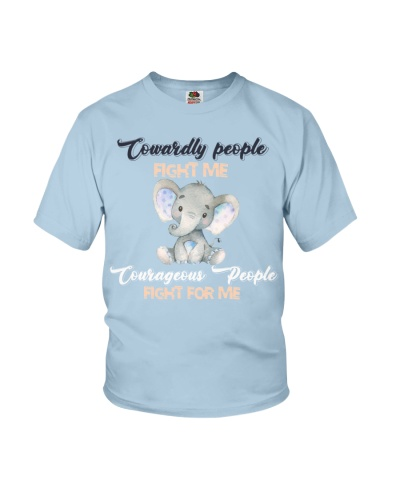 Qhn People Fight For Me Elephant Shirt
