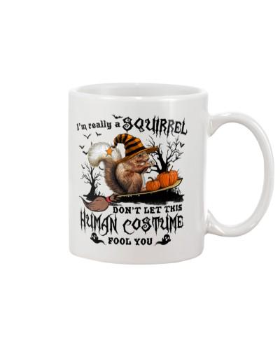 Squirrel Human Costume