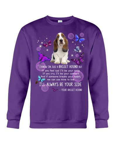 Basset hound i will always be your side