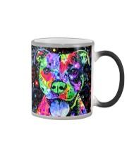 SHN 8 Colored face Pitbull Color Changing Mug thumbnail