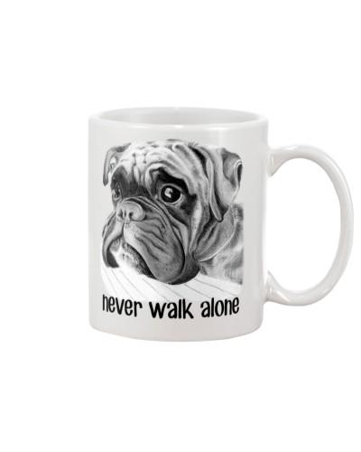 Boxer Never walk alone