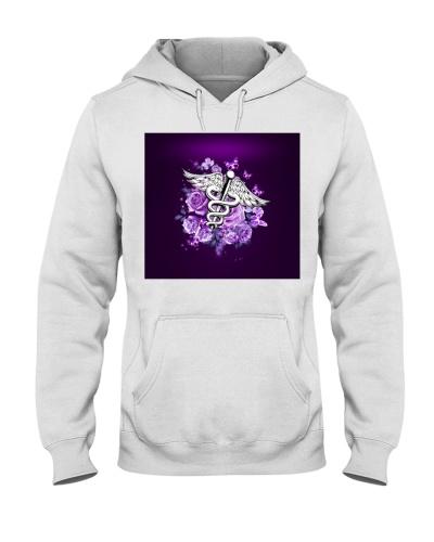 fn 5 nurse purple flowers