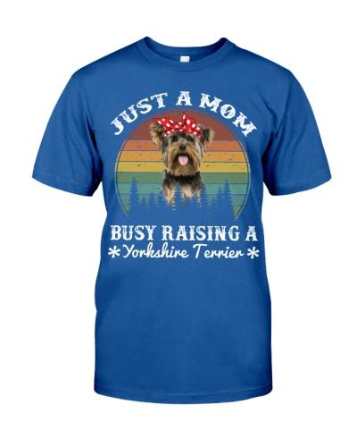 Yorkshire Terrier Mom Busy Raising