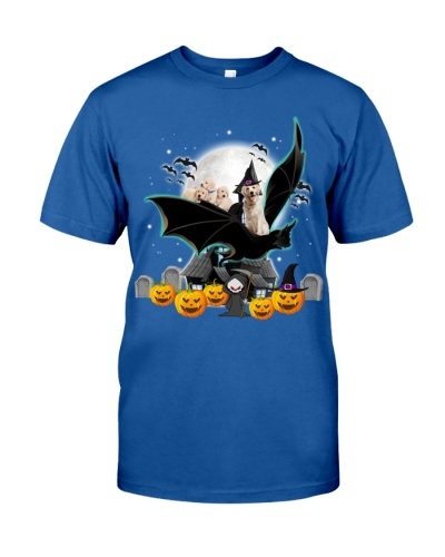 Labrador retriever bat halloween