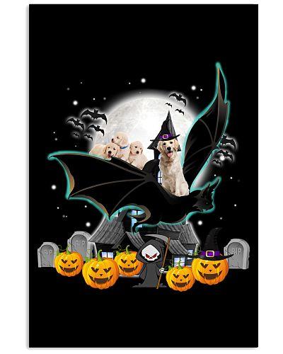 Labrador retriever bat halloween