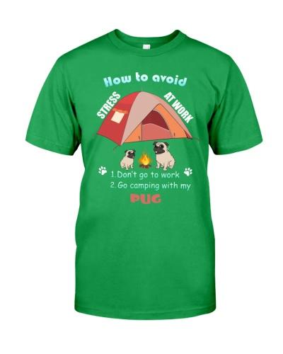 Pug camping