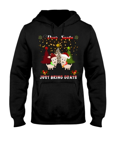 SHN Dear santa just bring Goats shirt