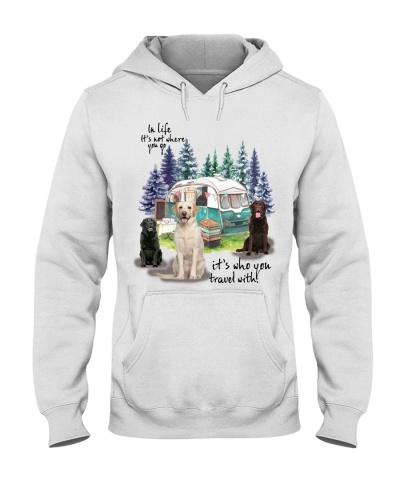 Labrador Retriever it's who you travel with