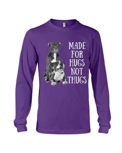 Pitbull made for hugs not thugs