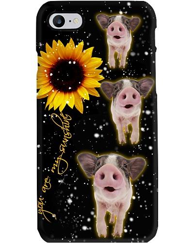 Pig U r my sunshine phone case