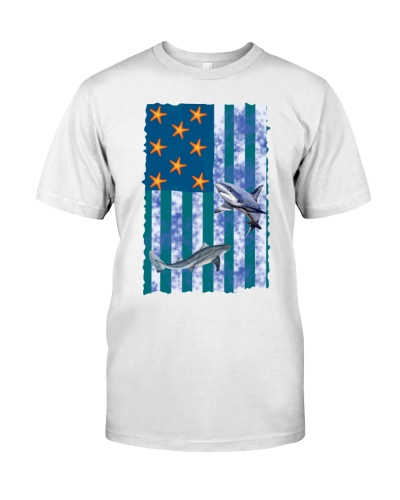 Shark sea flag