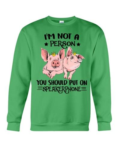 Pig speakerphone