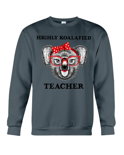 Teacher koalafied shirt