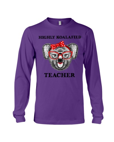 Teacher koalafied shirt