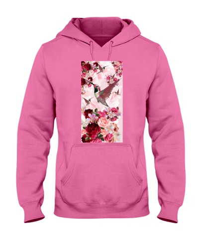 SHN 10 Pink roses Hummingbird phone case