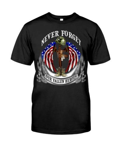 SHN 12 Never forget our fallen heroes Veteran