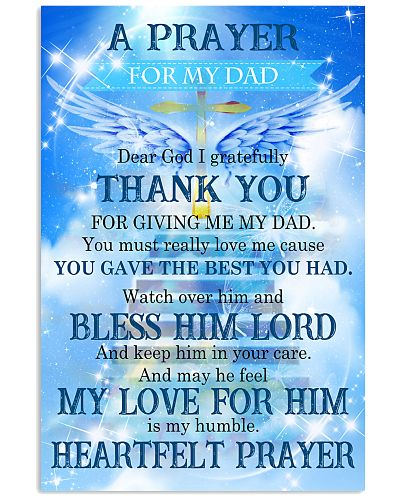 Father a payer for my dad