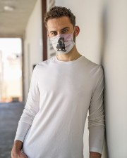 TH 32 Dachshund And Sakura Cloth face mask aos-face-mask-lifestyle-10